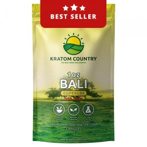 Premium Red Bali Kratom Capsules - Red Vein