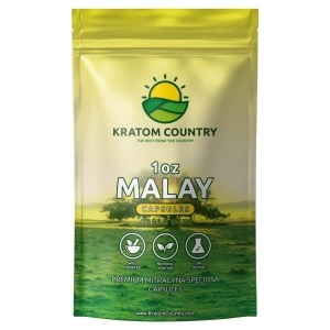 Green Malay Kratom Capsules - Green Vein