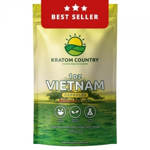 Vietnam Kratom Capsules - Red / Green Vein Blend