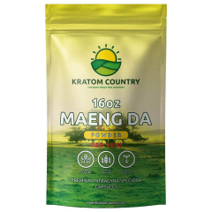 Maeng Da Kratom Powder - Red Vein-16 Ounces (448 Grams)