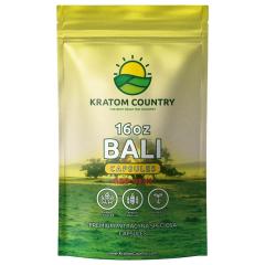 Red Bali Kratom Capsules - Red Vein-16 Ounces (448 Grams)
