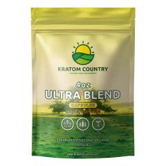 Ultra Blend Bali Kratom Capsules - Red / Green Vein Blend-4 Ounces (112 Grams)