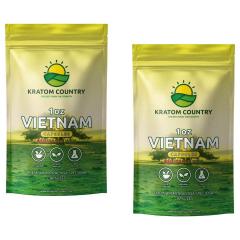 Vietnam Kratom Capsules - Red / Green Vein Blend-2 Ounces (56 Grams)