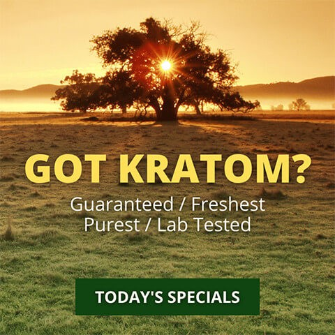Kratom Country Homepage Mobile Banner
