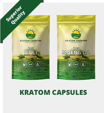 Kratom Country Superior Quality Capsules
