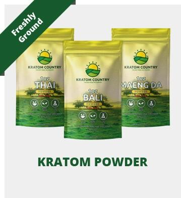 Kratom Country Freshly Ground Powder