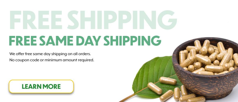 Kratom Same-Day Shipping